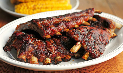 Baby back pork ribs 3